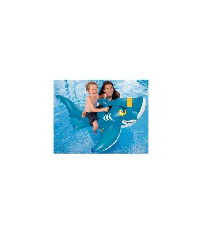 Intex Intex Blauwe Haai Ride-On 154x104cm