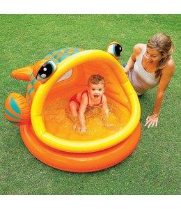 Intex Intex Babyzwembad Vis met Zonnescherm 124x109x71cm