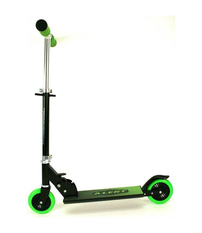 Alert Alert Aluminium Scooter Step Zwart/Groen