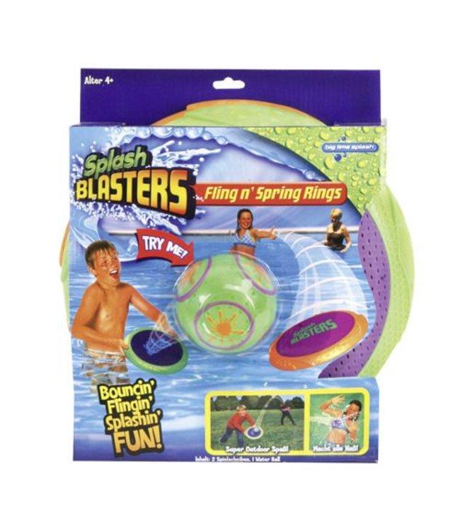 Basic Waterset Splash Blasters Fling 'n Spring Rings