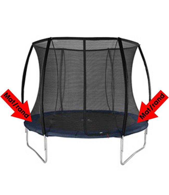 Alert Alert Beschermrand voor Trampoline Zwart 244 cm
