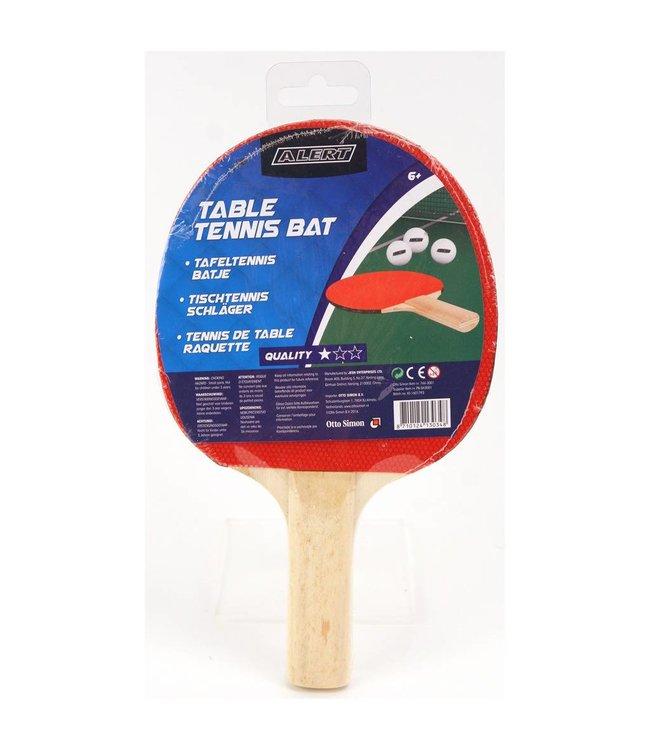 Alert Alert Tafeltennis Bat 1 Ster