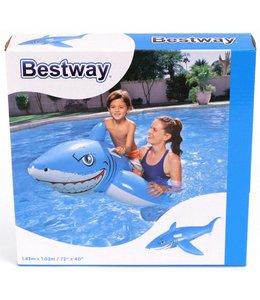 Bestway Bestway Opblaasbaar Figuur Witte Haai 183x102 cm