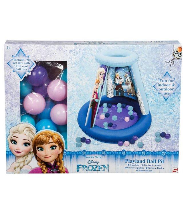 Disney Frozen Disney Frozen Ballenbak Rond + 20 Ballen