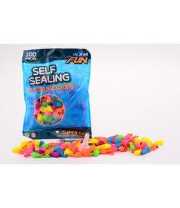 Basic Aqua Fun Waterballon Zelfafsluitbaar 100 Stuks