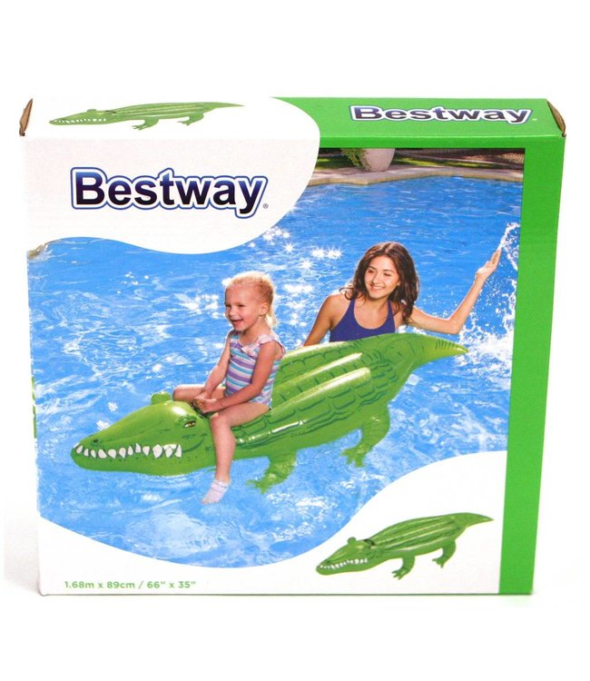 Bestway Bestway Opblaasbare Krokodil 167x89cm