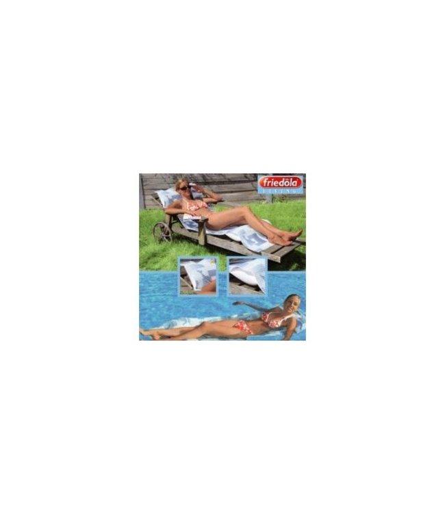 Friedola Friedola Relaxmat Dolfijn met Ingebouwde Opblaasbare Kussens 65x200cm