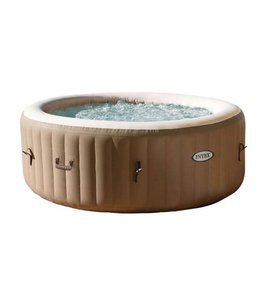 Intex Intex 28404 PureSpa Bubble Therapy Jacuzzi 4-Persoons Set 196/145x71cm