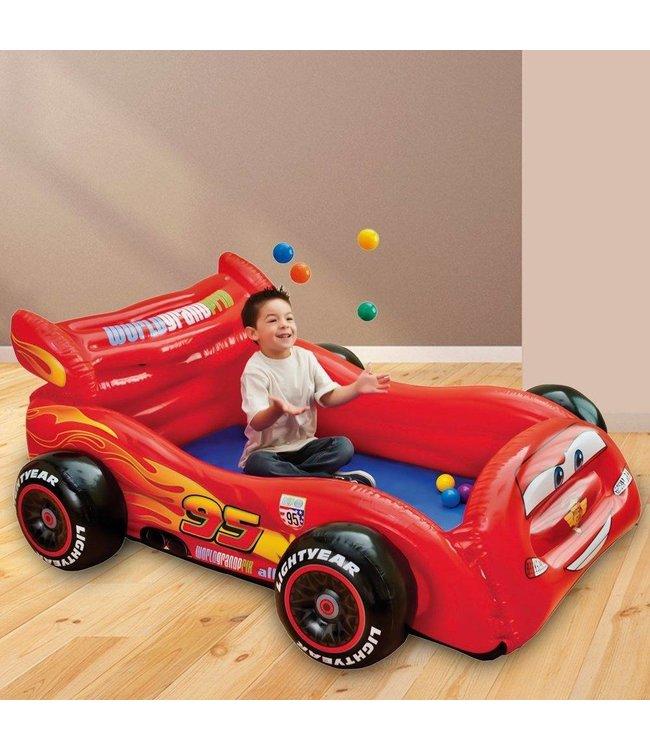 Intex Intex Cars Opblaasbare Ballenbak Auto met Ballen 180cm