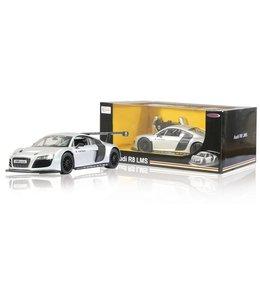 Jamara Jamara JAM-404430 RC Auto Audi R8 LMS RTR + Verlichting 1:14 Zilver