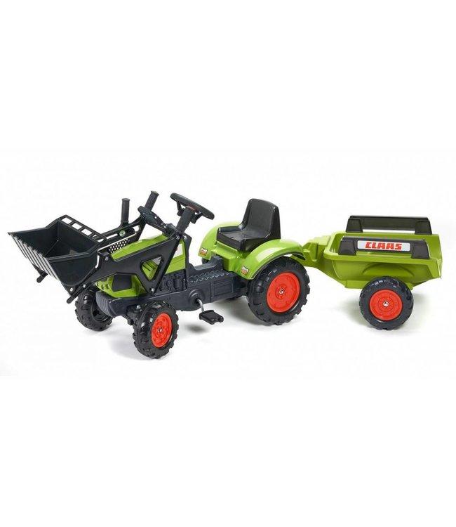 Falk Falk Claas Arion 410 Tractor + Aanhanger + Lader 2-5 Jaar