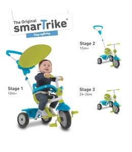 SmarTrike Smartrike 3in1 Driewieler Zip Groen Blauw