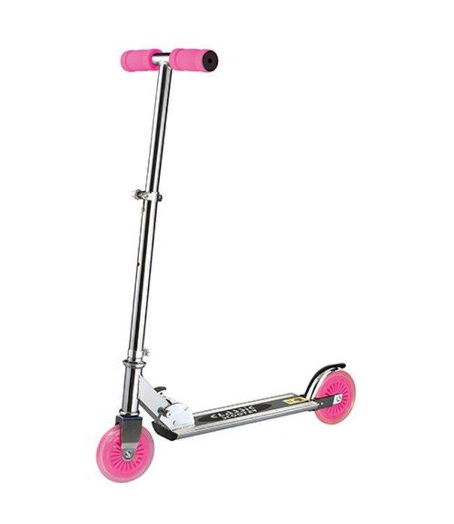 Basic New Classic Scooter Aluminium Roze