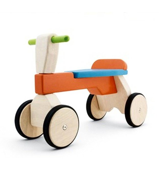 Pintoy Pintoy Houten Trike Loopfiets Bright Colors