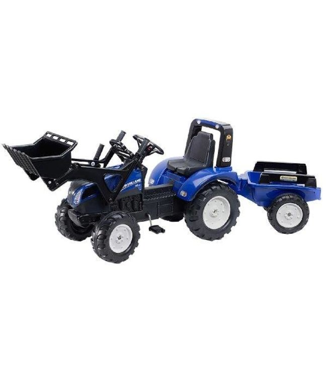 Falk Falk 3090M New Holland T8 Tractor + Voorlader + Aanhanger 3/7