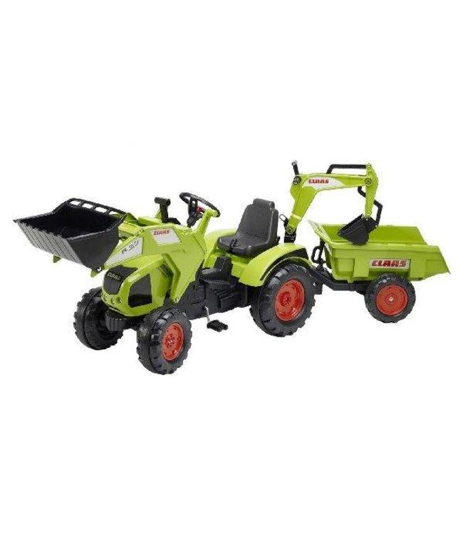 Falk Falk Claas Axos 330 Tractor + Aanhanger + Lader + Graafarm 3-7 jaar