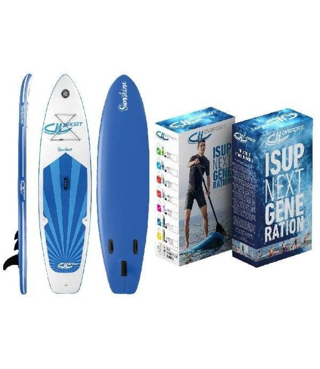 DevesSport DevesSport Opblaasbaar Sup Board Sunshine 305x75x10cm