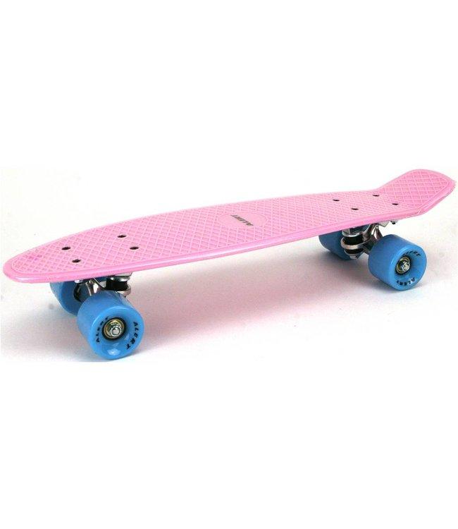 Alert Alert Skateboard Roze 55 cm