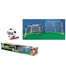 Basic Goal 2in1 2 Doelen: 91,5x63cm of 1 Doel: 183x121cm
