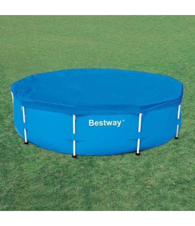 Bestway Bestway Afdekzeil voor Frame Zwembad 305cm Blauw
