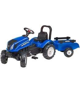 Falk Falk 3080AB New Holland T6 Tractor + Aanhanger 2/5