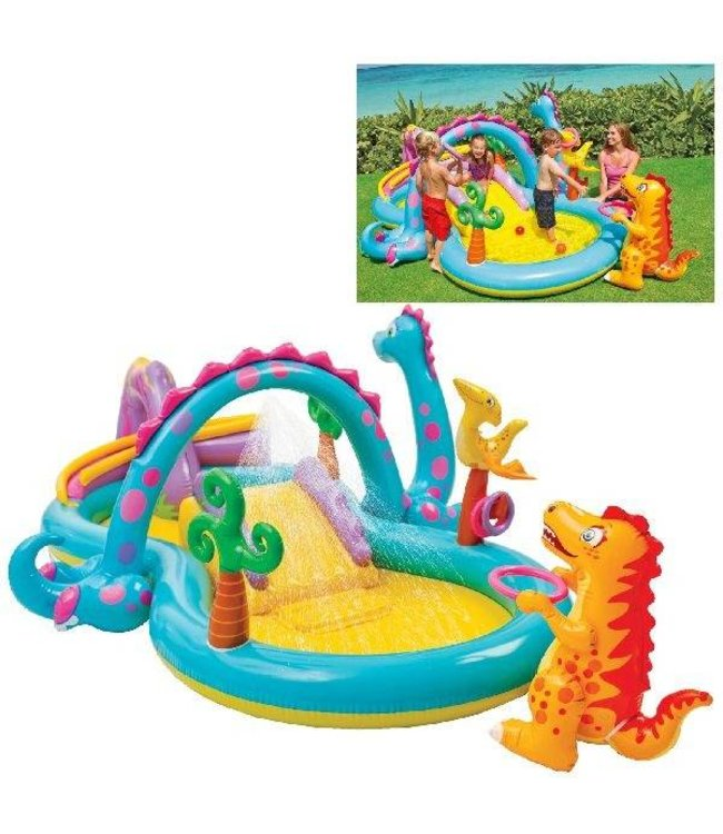 Intex Intex Dinoland Speelcentrum Zwembad 333x229x112cm