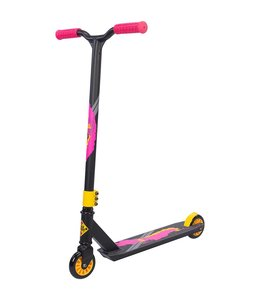 Black Dragon Black Dragon Step Stunt Scooter Antraciet/Geel/Rood
