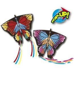Rhombus Rhombus Pop-Up Butterfly 3D Kindervlieger