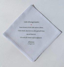 Nadelspitze Taschentuch für die Schwiegermutter