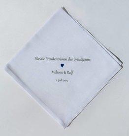 Nadelspitze Taschentuch für den Bräutigam