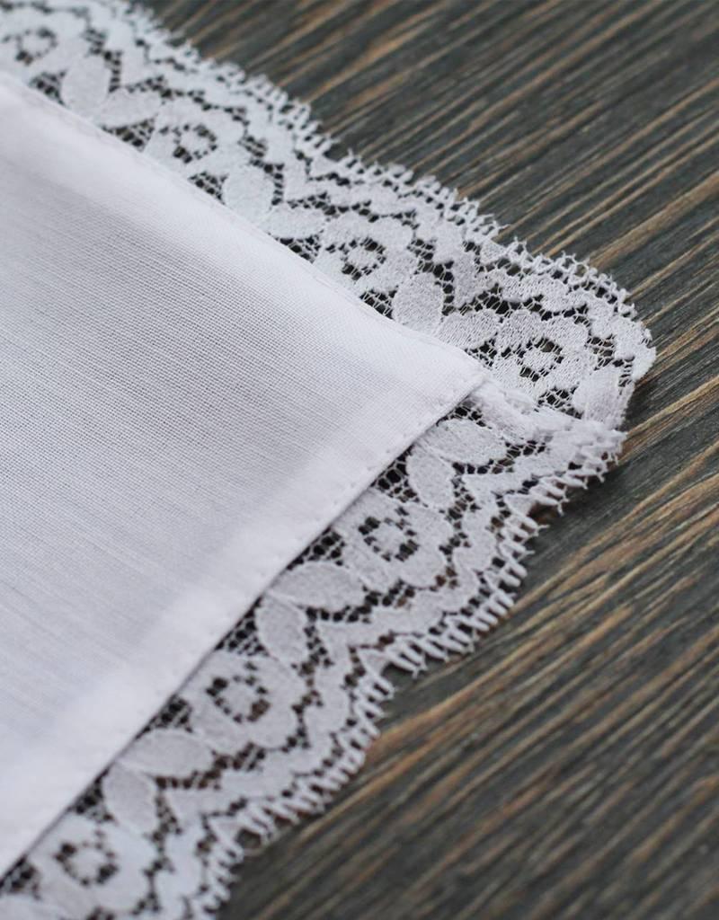 Nadelspitze Taschentuch für Opa - Freudentränen