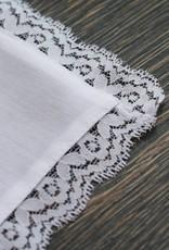 Nadelspitze Taschentuch für Papa - Freudentränen