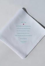 Nadelspitze Taschentuch für Papa - Immer an meiner Seite