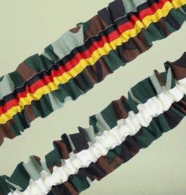 Nadelspitze Strumpfband Camouflage