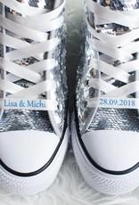 Nadelspitze Schuhbänder