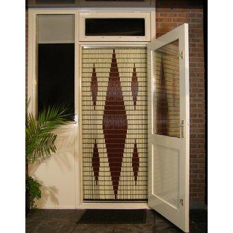 Liso ® 008 Fliegender Vorhang mit fünf Diamanten - fertig 92 x 209 cm