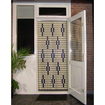 Liso ® 009 Flying Curtain mit Sternen - fertig 92 x 209 cm