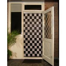 Liso ® 011 Fliegenvorhang mit Checkerboard - gebrauchsfertig 92 x 209