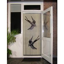 Liso ® 012 Vliegengordijn met Zwaluwen - kant en klaar 92 x 209