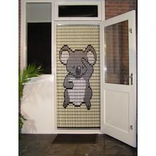 Liso ® 066 Vliegengordijn met Koala beertje - kant en klaar 92 x 209