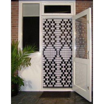 Liso ® 103 Fliegenvorhang mit maurischem Muster - Fertigmodell 92 x 209 cm