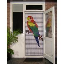 Liso ® Vliegengordijn met Parkiet - Doe-het-zelf pakket | Prijs / m²