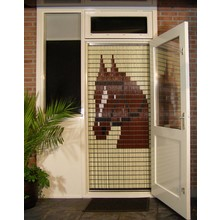 Liso ® Fliegenvorhang mit Pferd - Do-it-yourself-Paket Preis / m²