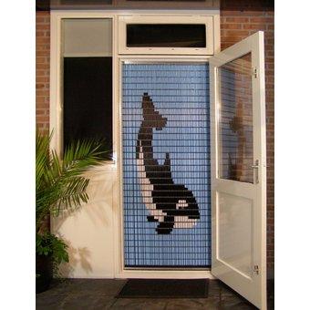 Liso ® Vliegengordijn DHZ-Pakket Liso® Orka - Doe-het-zelf pakket. Prijs per / m²