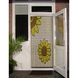 Liso ® Vliegengordijn met Bloemen - Doe-het-zelf pakket | Prijs / m²