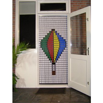 Liso ® Fliegenvorhang DIY Liso® Luftballonpaket - Do-it-yourself-Paket. Preis pro m²