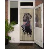 vliegengordijn Liso ® 032 Fliegenvorhang mit Labrador - Do-it-yourself-Paket Preis / m²