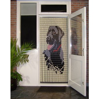 vliegengordijn Liso ® Fliegenvorhang DIY-Paket Liso® Labrador-Do-it-yourself-Paket. Preis pro m²