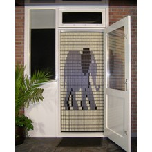 Liso ® 034Vliegengordijn met Olifant - Doe-het-zelf pakket   Prijs / m²