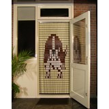 vliegengordijn Liso ® 036 Fliegenvorhang mit Beagle - Do-it-yourself-Paket Preis / m²